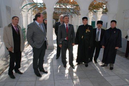 Рабочий визит Председателя ВР АРК А.П.Гриценко в Евпаторию