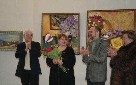 Открытие выставки С.Хаджи 28 января в Симферополе