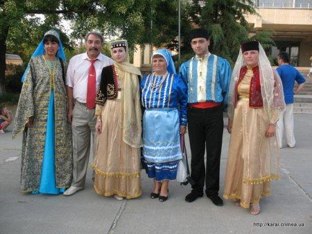 Празднование  Международного дня коренных народов в Судаке 6-9 августа 2010г.