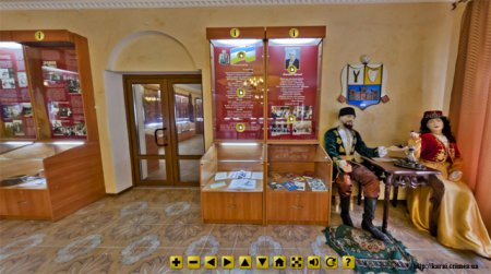 """Виртуальная экскурсия по музею при караимском центре """"Кале"""" г. Мелитополь"""