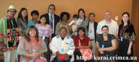 Крымские караимы на 12 сессии Постоянного форума ООН по вопросам коренных народов