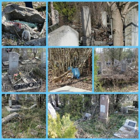 Акция - уборка караимских секторов кладбища Абдал в г. Симферополе