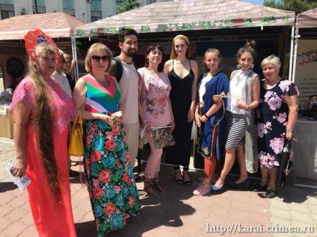 Крымские караимы на дне города Симферополя 2019