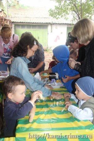 Мастер-класс для детей по приготовлению хамур долма